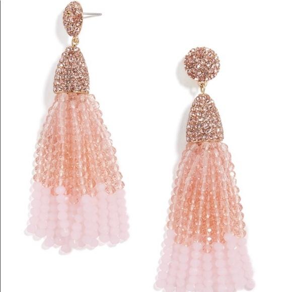 BaubleBar Jewelry - Baublebar Gem Piñata Tassel Drops Pink Ombré